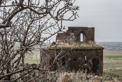 Εκκλησία Αγίου Zoravar σε Yeghvard Αρμενία Στοκ φωτογραφία με δικαίωμα ελεύθερης χρήσης