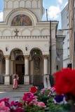 Εκκλησία αγοράς του ST John στο Βουκουρέστι Ρουμανία στοκ φωτογραφία με δικαίωμα ελεύθερης χρήσης