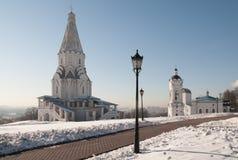 εκκλησία ανάβασης kolomenskoe Στοκ Εικόνα
