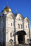 Εκκλησία αρχαγγέλων στη Μόσχα Κρεμλίνο Περιοχή παγκόσμιων κληρονομιών της ΟΥΝΕΣΚΟ Στοκ Εικόνες