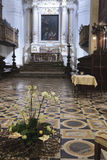 εκκλησία βωμών Στοκ εικόνες με δικαίωμα ελεύθερης χρήσης