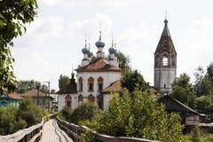 εκκλησία γεφυρών παλαιά &si Στοκ εικόνες με δικαίωμα ελεύθερης χρήσης