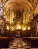 εκκλησία γοτθική εσωτερική Ισπανία Στοκ Εικόνες