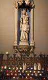εκκλησία γοτθική ιερή Mary Π&alp Στοκ Εικόνες