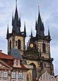 εκκλησία γοτθική Πράγα Στοκ φωτογραφίες με δικαίωμα ελεύθερης χρήσης