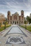 εκκλησία Ελλάδα Καρδίτσα Κωνσταντίνος επιβαρύνσεων Στοκ εικόνες με δικαίωμα ελεύθερης χρήσης