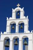 εκκλησία ελληνικά καμπα Στοκ φωτογραφία με δικαίωμα ελεύθερης χρήσης