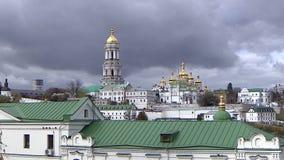 Εκκλησία Θόλοι με τις εκκλησίες σταυρών απόθεμα βίντεο