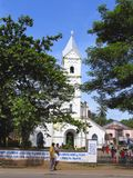 Εκκλησία καθεδρικών ναών CSI - Kozhikode, Calicut, Κεράλα Στοκ Εικόνες