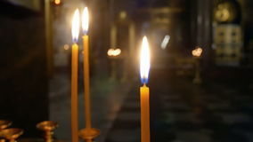 Εκκλησία κεριών θρησκείας φιλμ μικρού μήκους