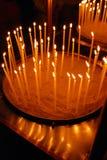 εκκλησία κεριών ορθόδοξ&et Στοκ Εικόνες