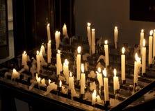 εκκλησία κεριών Στοκ Φωτογραφία