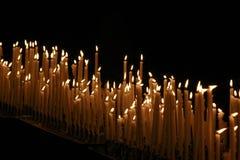 εκκλησία κεριών Στοκ φωτογραφία με δικαίωμα ελεύθερης χρήσης