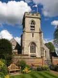 Εκκλησία κοινοτήτων του ST Michael's, Chenies, Buckinghamshire, Αγγλία, UK στοκ φωτογραφία με δικαίωμα ελεύθερης χρήσης