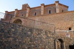 Εκκλησία κοινοτήτων, Arcos de las Salinas, Teruel, Ισπανία Στοκ φωτογραφίες με δικαίωμα ελεύθερης χρήσης