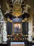 εκκλησία Κρακοβία paulite Πολωνία Στοκ εικόνα με δικαίωμα ελεύθερης χρήσης