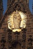 εκκλησία κυρία ν το τ μας Πράγα, Δημοκρατία της Τσεχίας στοκ εικόνα