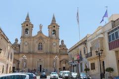 Εκκλησία Μάλτα Zurrieq στοκ εικόνα με δικαίωμα ελεύθερης χρήσης
