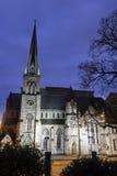 Εκκλησία μέσα κεντρικός του Χάρισμπουργκ στοκ φωτογραφία με δικαίωμα ελεύθερης χρήσης