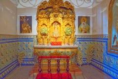 Εκκλησία μέσα στο μουσείο βασιλικό Maestranza ταυρομαχίας του ιππικού μέσα Στοκ Εικόνες