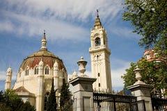 εκκλησία Μαδρίτη manuel SAN Υ του Benito στοκ φωτογραφίες με δικαίωμα ελεύθερης χρήσης