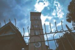 Εκκλησία μια νεφελώδη ημέρα Στοκ Εικόνες