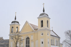 εκκλησία Μινσκ ορθόδοξ&omicro Στοκ φωτογραφία με δικαίωμα ελεύθερης χρήσης