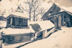 εκκλησία ξύλινη Στοκ φωτογραφία με δικαίωμα ελεύθερης χρήσης
