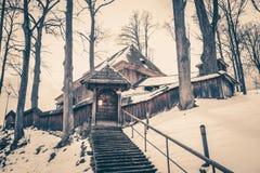 εκκλησία ξύλινη Στοκ φωτογραφίες με δικαίωμα ελεύθερης χρήσης