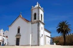 εκκλησία Πορτογαλία sines Στοκ φωτογραφίες με δικαίωμα ελεύθερης χρήσης
