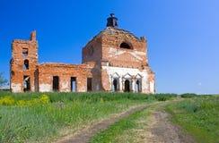 εκκλησία που καταστρέφ&epsil Στοκ Φωτογραφίες