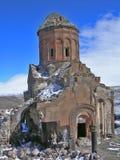 εκκλησία που καταστρέφ&epsil Στοκ φωτογραφία με δικαίωμα ελεύθερης χρήσης