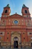 εκκλησία Πράγα Πράγα ST Wenceslas Στοκ εικόνες με δικαίωμα ελεύθερης χρήσης