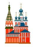 εκκλησία Ρωσία αρχιτεκτ& Στοκ φωτογραφία με δικαίωμα ελεύθερης χρήσης