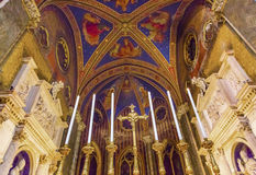 Εκκλησία Ρώμη Ιταλία βασιλικών βωμών της Σάντα Μαρία Sopra Minerva Στοκ Εικόνες