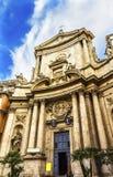 Εκκλησία Ρώμη Ιταλία βασιλικών βωμών Al Corso Chiesa SAN Marcello Στοκ φωτογραφία με δικαίωμα ελεύθερης χρήσης