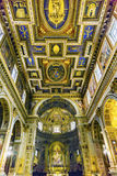 Εκκλησία Ρώμη Ιταλία βασιλικών βωμών Al Corso Chiesa SAN Marcello Στοκ Φωτογραφίες