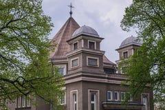 Εκκλησία σε Cesky Tesin στοκ εικόνα