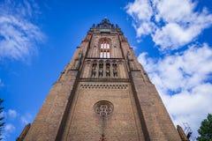 Εκκλησία σε Chojna Στοκ Εικόνες