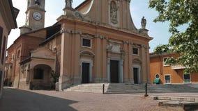 Εκκλησία σε Gravellona Lomellina, PV, Ιταλία φιλμ μικρού μήκους