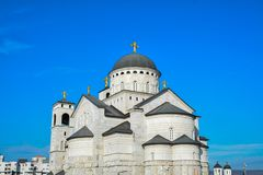 Εκκλησία σε Podgorica Στοκ εικόνα με δικαίωμα ελεύθερης χρήσης