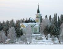 Εκκλησία σε Ruokolahti, Φινλανδία στοκ φωτογραφία
