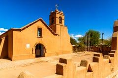 Εκκλησία σε SAN Pedoro de Atacama στη Χιλή στοκ εικόνες με δικαίωμα ελεύθερης χρήσης