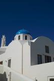 Εκκλησία σε Santorini Στοκ φωτογραφία με δικαίωμα ελεύθερης χρήσης
