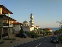 Εκκλησία σε Sveti Vlas, Βουλγαρία στοκ φωτογραφία με δικαίωμα ελεύθερης χρήσης