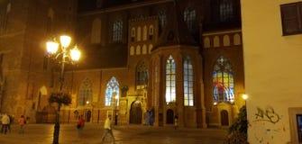 Εκκλησία σε Wroclav στοκ φωτογραφία με δικαίωμα ελεύθερης χρήσης