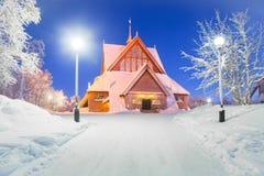 Εκκλησία Σουηδία Kiruna Στοκ εικόνα με δικαίωμα ελεύθερης χρήσης