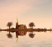 εκκλησία σουηδικά Στοκ εικόνα με δικαίωμα ελεύθερης χρήσης