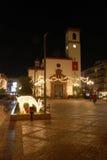 Εκκλησία στα Χριστούγεννα, Fuengirola, Ισπανία. Στοκ Εικόνα