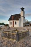 Εκκλησία στην κοιλάδα Nicola Στοκ Φωτογραφίες